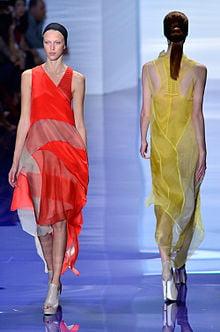 Vera Wang Spring-Summer 2014 runway show at New York Fashion Week