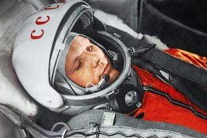 YURI GAGARIN, first man in space