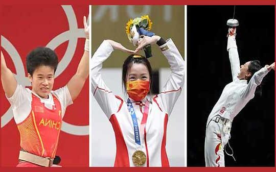 Chinese-Olympic-Gold-Medals