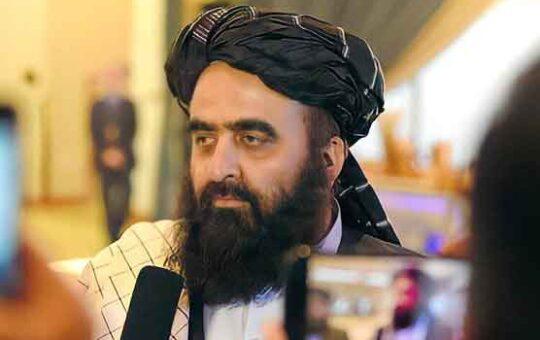 Afghanistan's Interim Foreign Minister Maulvi Amir Khan