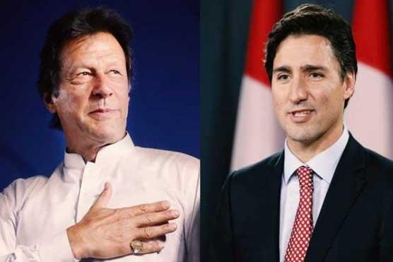 Imran Khan and Canadian PM