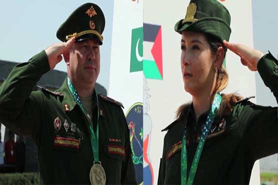 Russian Shooters in Lahore